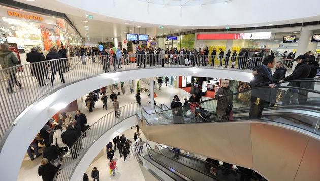 Die Bahnhofcity am Wiener Westbahnhof (Bild: APA/HANS KLAUS TECHT)