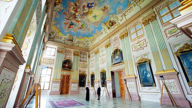Seit 1. April gibt es wieder Führungen im Stift Herzogenburg. (Bild: Reinhard Holl)