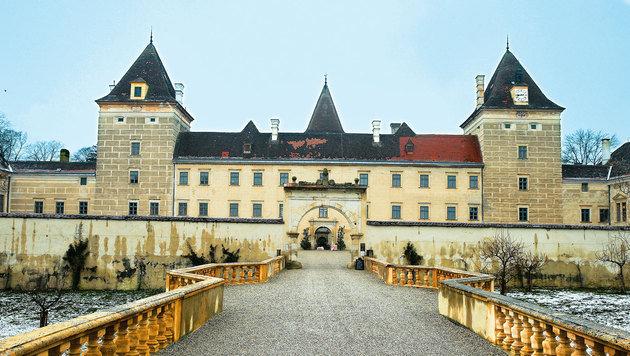 In der Renaissance erbaut: Schloss Walpersdorf. (Bild: Reinhard Holl)
