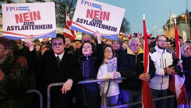 """Harte Kritik an Wiens """"Asyl-Baunovelle"""" (Bild: Peter Tomschi)"""