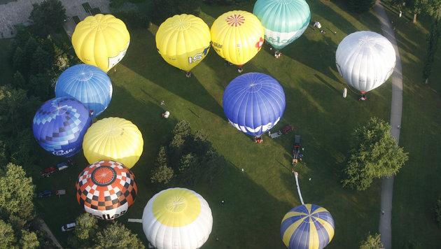 Ballonfahren gilt als wenig risikobehaftet, Unfälle müssen aber natürlich auch gemeldet werden (Bild: KRONEN ZEITUNG)
