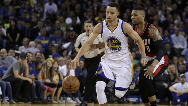 NBA: 69. Saisonsieg der Golden State Warriors (Bild: ASSOCIATED PRESS)