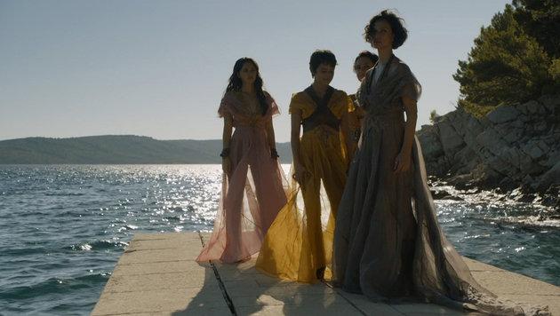 """Die Sandschlangen in """"Game of Thrones"""" (Bild: Viennareport)"""