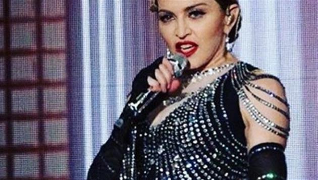 """Madonna: """"Blowjob für jeden Hillary-Wähler!"""" (Bild: Zoomin.TV)"""