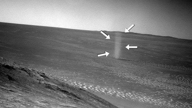 Forscher prüften Raumanzug auf Mars-Tauglichkeit (Bild: NASA/JPL-Caltech)