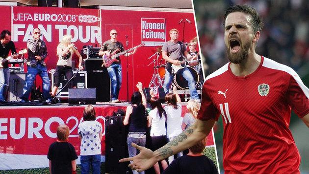 """FAN TOUR: """"Krone"""" kürt 30 EURO-Sieger! (Bild: """"Krone"""", GEPA)"""
