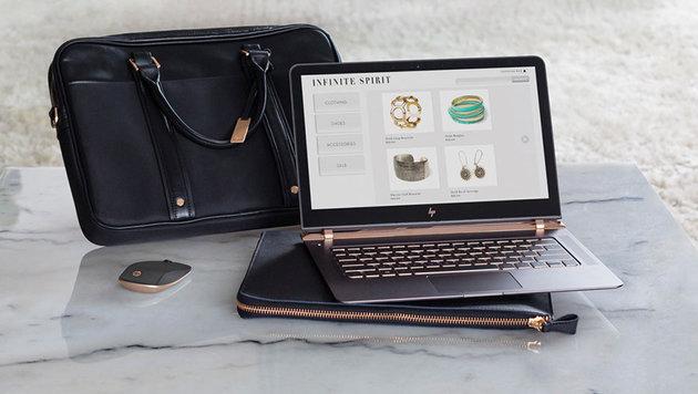 HP präsentiert den weltweit dünnsten Laptop (Bild: HP)