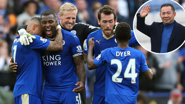 Leicesters Besitzer schmeißt Party für die Fans (Bild: GEPA)
