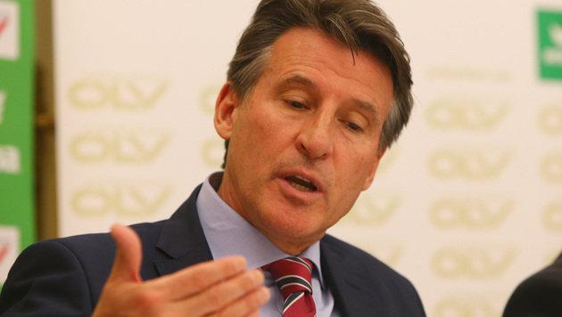 IAAF-Präsident Sebastian Coe (Bild: GEPA)