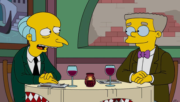 """Simpsons"": Smithers-Outing entzückt das Internet (Bild: facebook.com/TheSimpsons)"