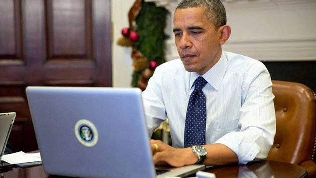 WLAN mies, PCs lahm: Obama rüstet Weißes Haus auf (Bild: facebook.com/whitehouse)