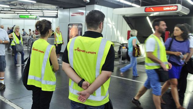 Wien: Kontrolleur attackiert Fahrgast mit Kopfstoß (Bild: Wiener Linien)