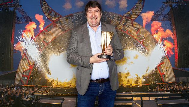 Wiener Konzertagentur gewinnt mit AC/DC Award (Bild: APA/ERWIN SCHERIAU, LSK)