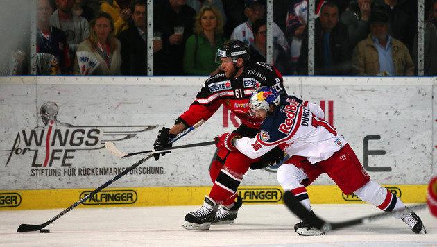 Znojmo überrollt Salzburg im dritten Finalspiel (Bild: GEPA)