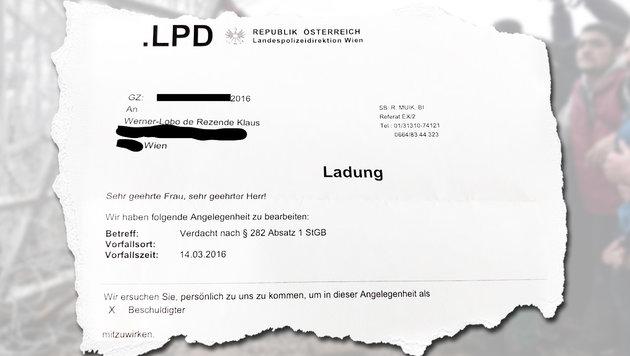 Wiener Ex-Grünem drohen jetzt zwei Jahre Haft (Bild: APA/AFP/LOUISA GOULIAMAKI, facebook.com)
