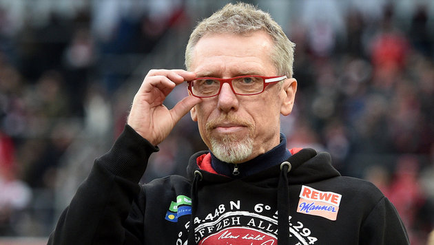 """Stöger-Ziel mit Köln: """"So gut wie letzte Saison!"""" (Bild: APA/DPA/JONAS G†TTLER)"""