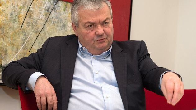 Oberösterreichs AK-Präsident Johann Kalliauer (Bild: APA/FOTOKERSCHI.AT)