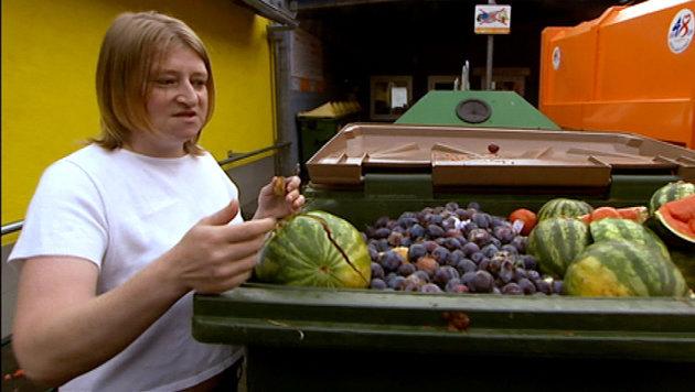 """""""Am Schauplatz"""" über Lebensmittel-Verschwendung (Bild: ORF)"""
