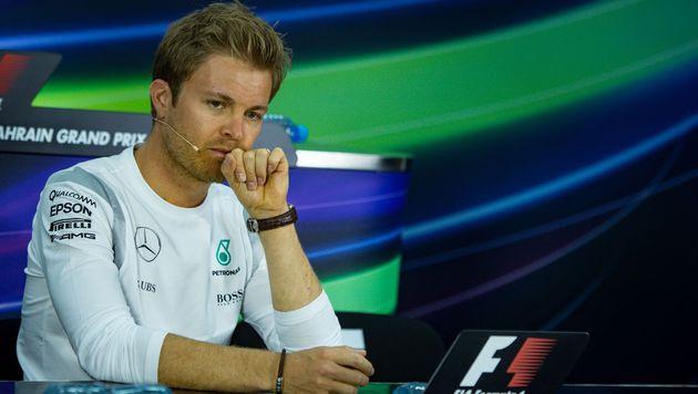 Auch Nico Rosberg wehrt sich gegen Vorwürfe (Bild: AFP)