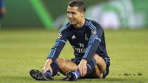 """Ronaldo ist """"nicht mehr unantastbar"""" bei Real! (Bild: AP)"""