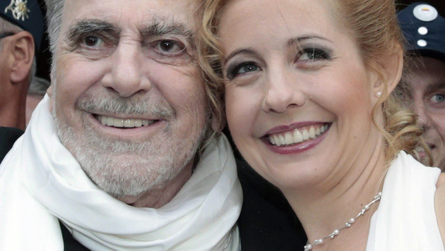 Iva Schell mit dem 2014 verstorbenen Maximilian Schell (Bild: APA/Gert Eggenberger)