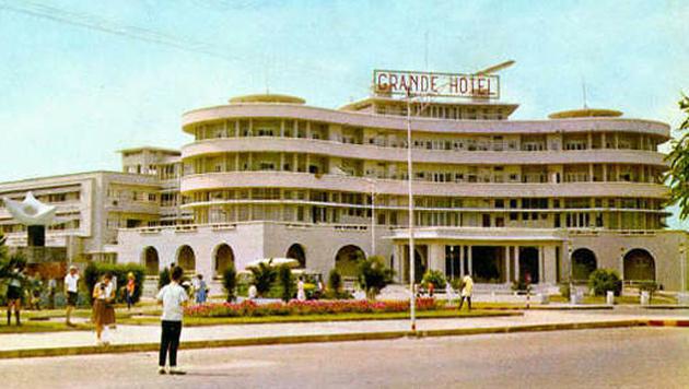 """Das """"Grande Hotel"""" im Jahr 1962 (Bild: Krone)"""