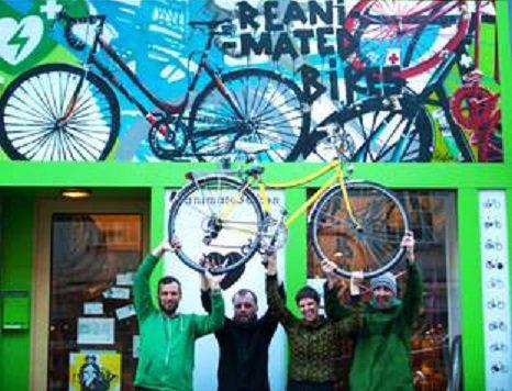 """""""Top 5: Die abgefahrensten Bikeshops Wiens (Bild: Reanimated Bikes)"""""""
