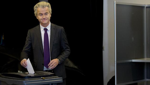 Rechtspopulist Geert Wilders (Bild: AP)