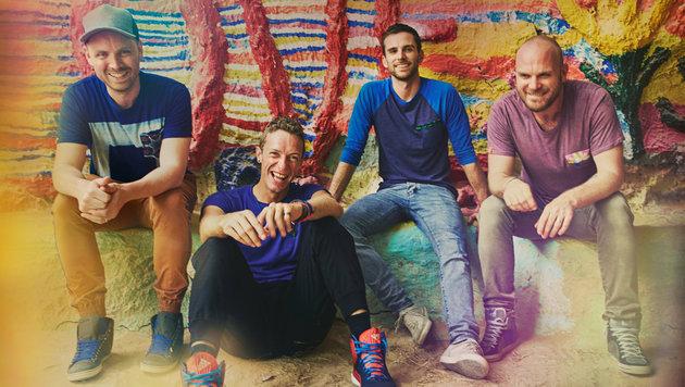 """Coldplay: """"Wir sollten 2017 zu euch kommen"""" (Bild: Warner Music)"""