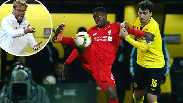 Klopps Liverpool erreicht 1:1-Remis in Dortmund! (Bild: APA/AFP/ODD ANDERSEN, AP)