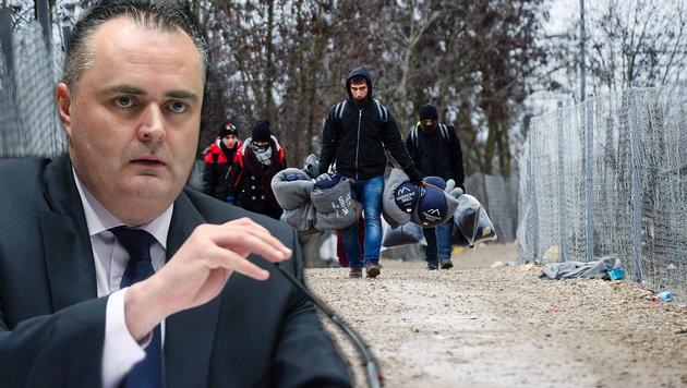 Mazedonien: Ein Magnet für Extremisten aller Art (Bild: AFP, AP)