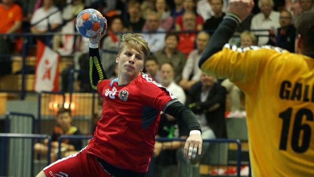 ÖHB-Team verliert gegen Tschechien knapp mit 26:27 (Bild: GEPA)