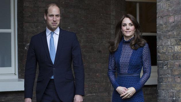 Prinz William und Herzogin Kate (Bild: AP)