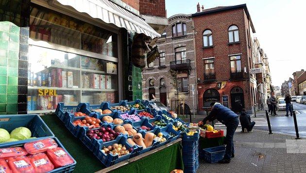 Molenbeek gilt als Problemviertel Brüssels - hier blüht die IS-Ideologie geradezu auf. (Bild: AFP or licensors)