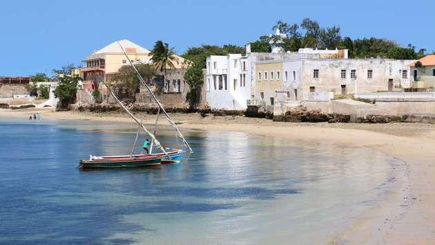 Karibik-Feeling an den Stränden von Mosambik. Dennoch spielt der Tourismus hier kaum eine Rolle. (Bild: APA/AFP/ADRIEN BARBIER)