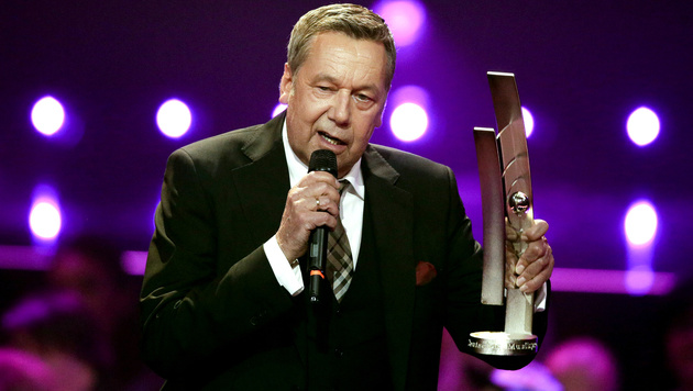 Roland Kaiser wurde für sein soziales Engagement geehrt. (Bild: AP)