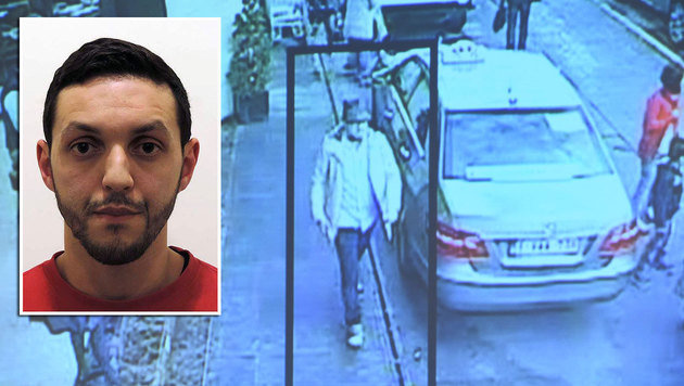 "Terrorist Mohammed Abrini, der ""Mann mit dem Hut"" (Bild: ASSOCIATED PRESS, APA/AFP/JOHN THYS)"