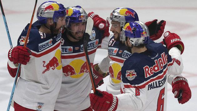 Ausgleich im EBEL-Finale: Salzburg siegt in Znojmo (Bild: GEPA)