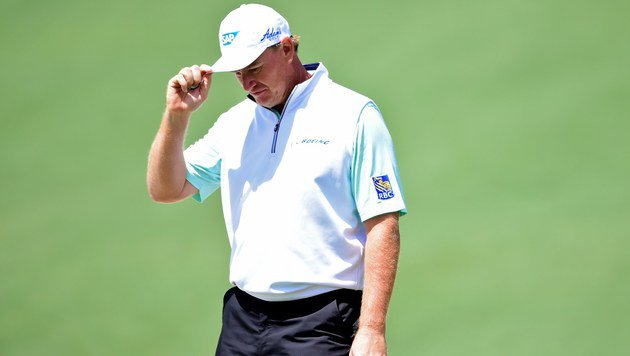 Blackout von Golf-Star Ernie Els bei US-Masters (Bild: APA/AFP/GETTY IMAGES/Harry How)