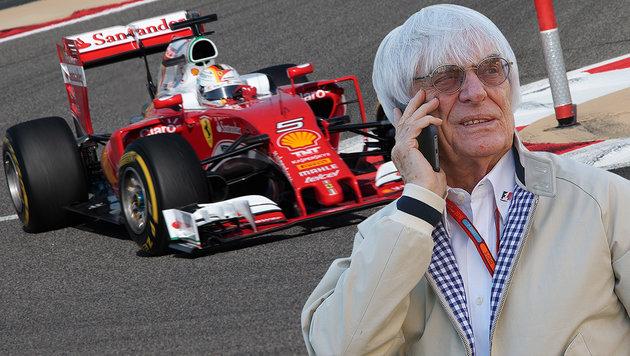 "Ferrari kassiert mehr ""Bernie-Money"" als Mercedes (Bild: GEPA)"