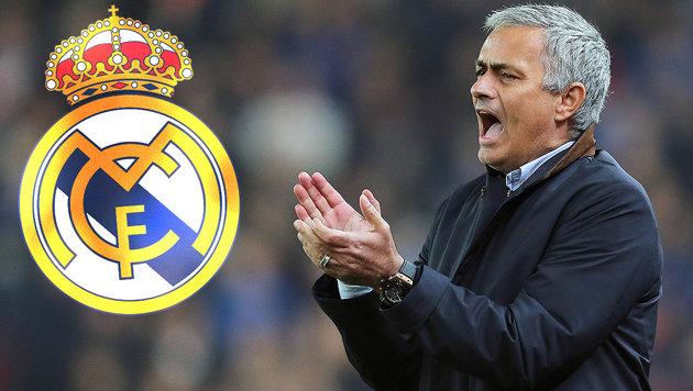 Real-Boss kämpft schon wieder um Jose Mourinho (Bild: GEPA, Real Madrid)