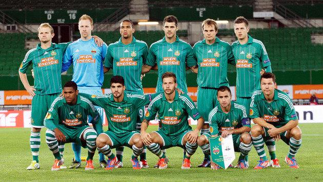 20.9.2012: Geisterspiel: Hofmann spielt mit Rapid gegen Trondheim vor leeren Rängen. (Bild: GEPA pictures)