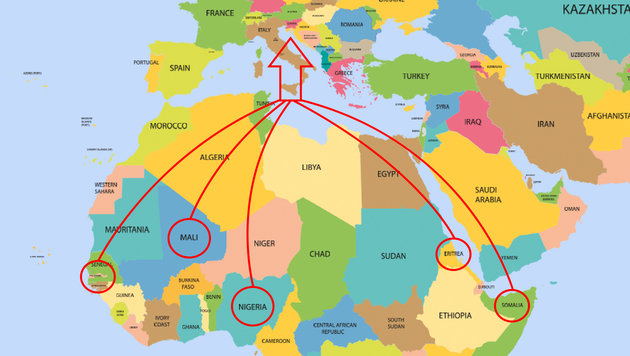 """General: """"Mittelmeer kann genau observiert werden"""" (Bild: thinkstockphotos.de)"""