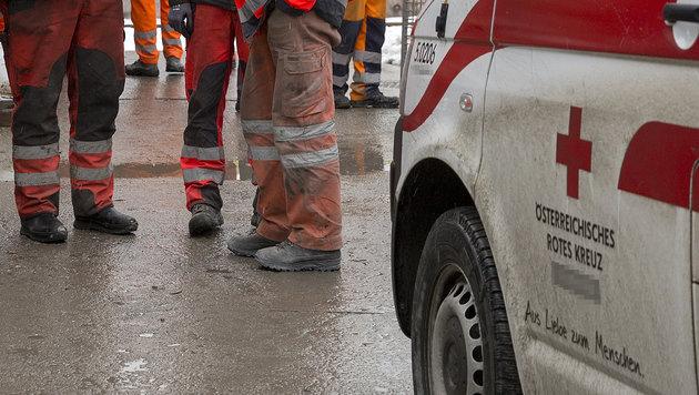 50-Jähriger ging bei Arbeitsunfall in Flammen auf (Bild: APA/ERWIN SCHERIAU (Symbolbild))