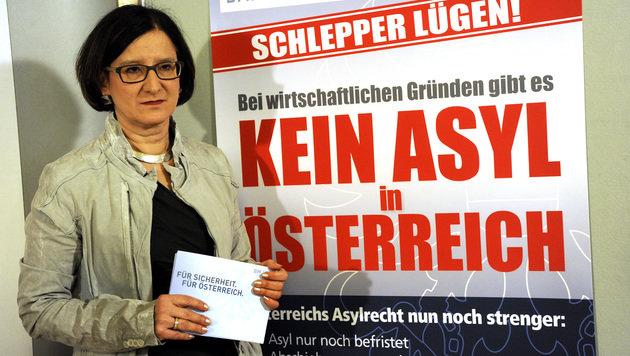 """Mikl-Leitner """"ist mit harter Hand aufgefallen"""" (Bild: APA/HERBERT PFARRHOFER)"""