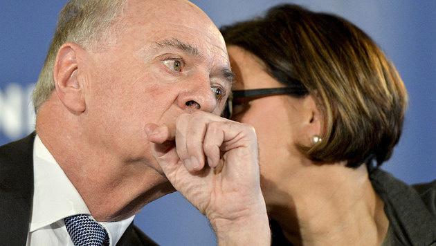 ÖVP-Spitzen: Johanna Mikl-Leitner soll Landeshauptmann Erwin Pröll beerben.