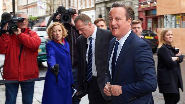 """David Cameron steht wegen der brisanten Enthüllungen der """"Panama Papers"""" gewaltig unter Druck. (Bild: AFP or licensors)"""