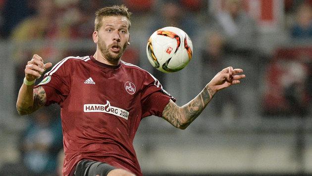 Burgstaller verliert mit Nürnberg in Stuttgart 1:3 (Bild: GEPA)