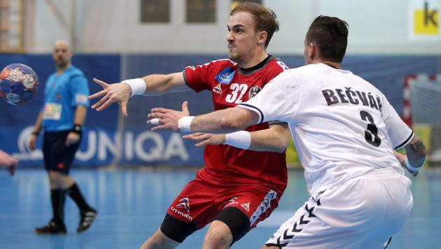 Handball-Herren verlieren auch 2. Tschechien-Test (Bild: GEPA)