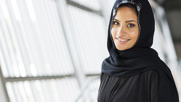 """Ist das Kopftuch auch bei Gericht """"tragbar""""? (Bild: thinkstockphotos.de (Symbolbild))"""